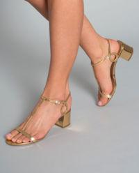 Sandály na podpatku Almost Bare