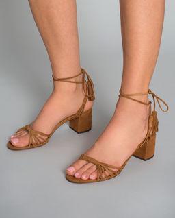 Sandały na obcasie Mescal