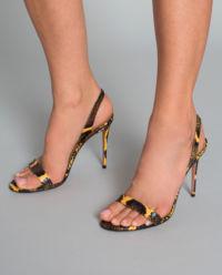Sandály z hadí kůže So Nude