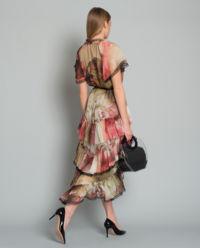 Sukienka Jedwabna Florence Flower