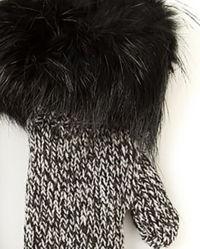 Rękawiczki z futrem