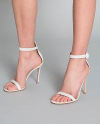 Sandały na szpilce Portofino białe