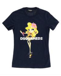T-shirt z logo 4-14 lat