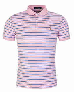 Koszulka polo w paski Slim Fit