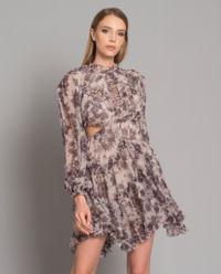 Sukienka z jedwabiu Juno