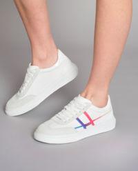 Sneakersy H365 z łączonej skóry
