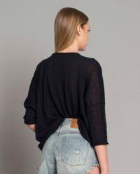 Sweter z lnem