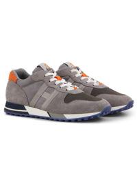 Sneakersy H383 szare