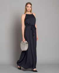 Sukienka maxi z wiązaniem