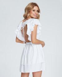 Biała sukienka mini Marina