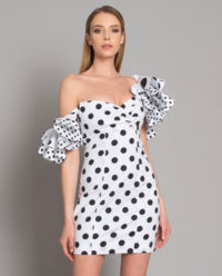 Tečkované šaty