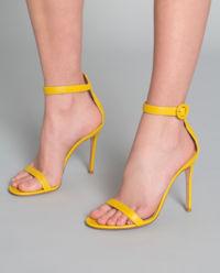 Sandály na jehle Portofino žluté