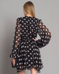 Hedvábné šaty Olena