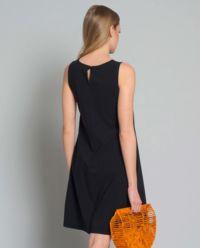 Sukienka mini z kieszenią