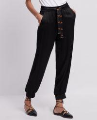 Spodnie dresowe z troczkiem