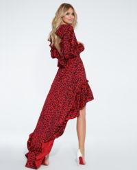 Sukienka w cętki Andrea Red