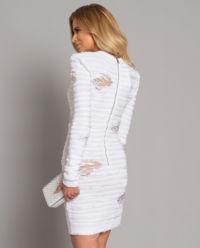 Sukienka z przetarciami