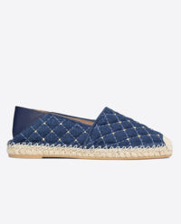Espadryle Denim Rockstud Spike