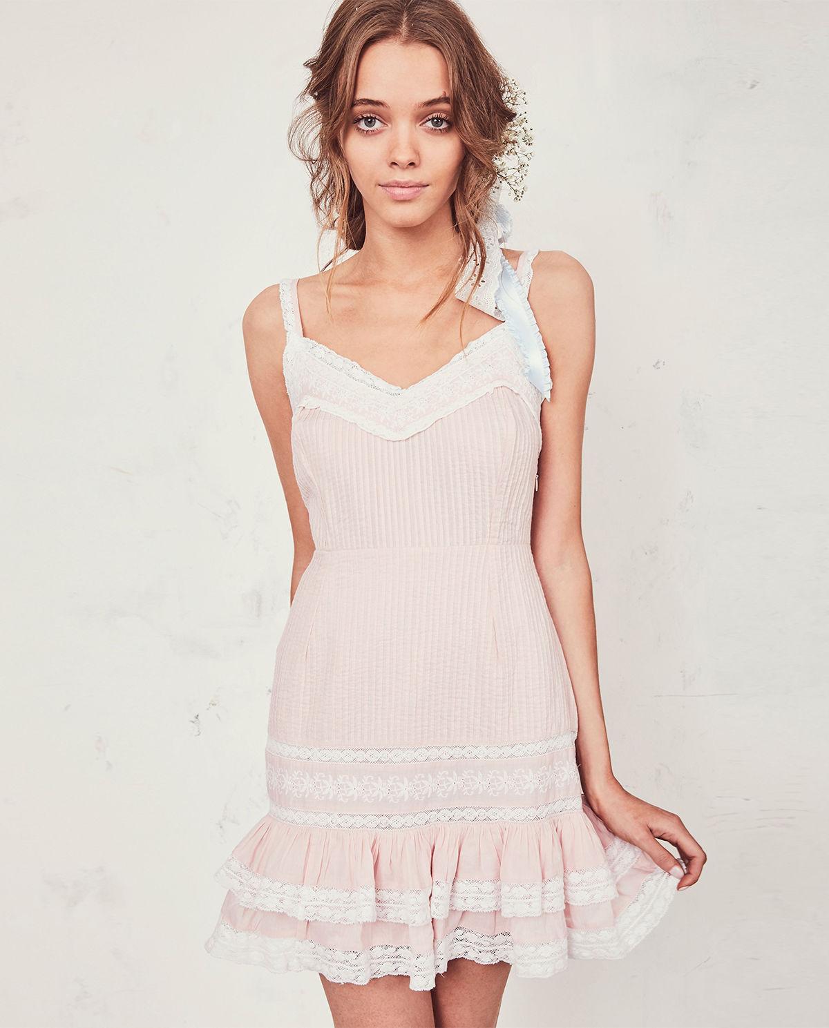 8c63c969c0 Sukienka mini tallulah LOVE SHACK FANCY – Kup Teraz! Najlepsze ceny ...
