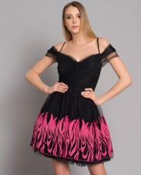 Sukienka z tiulem Chachacha