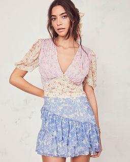 Barevné šaty Bea