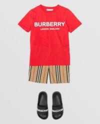T-shirt z logo 0-2 lata