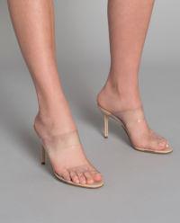 Sandały na szpilce Scolto