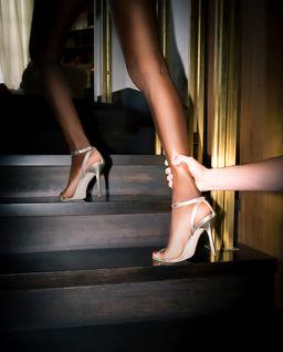 Sandały na szpilce LIMITOWANA KOLEKCJA