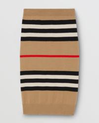 Spódnica wełniana w paski
