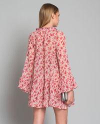 Šaty s hedvábí