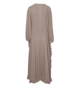Sukienka jedwabna z falbanami