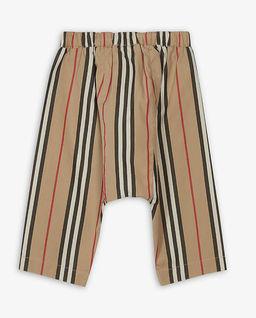 Spodnie w paski  6-12 miesięcy