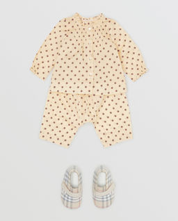 Spodnie w gwiazdki 0-2 lata