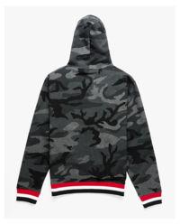 Bluza z kapturem camouflage