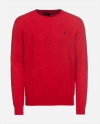 Sweter z długim rękawem czerwony
