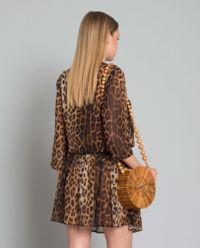 Sukienka mini z printem