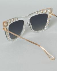 Okulary z kryształami Swarovskiego
