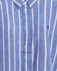 Koszula w paski z lnu