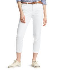 Bavlněné kalhoty chinos