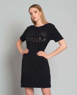 Sukienka mini z logo marki