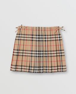 Plisowana spódnica w kratkę 3-14 lat