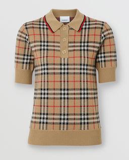 Koszulka polo z wełny merino