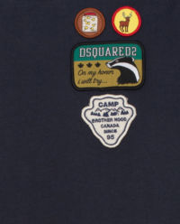 T-shirt z naszywkami 4-16 lat