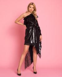 Sukienka Metallic Velvet