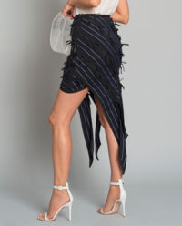 Asymetryczna spódnica