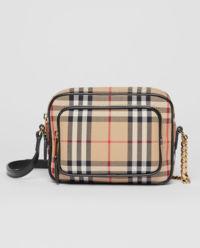 Torebka Camera Bag w kratę