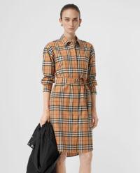 Sukienka midi Vintage Check