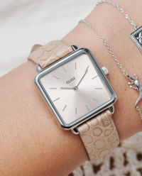 Zegarek La Tetragone Silver Beige