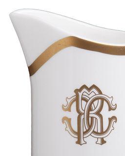 Mlecznik z porcelany Silk Gold