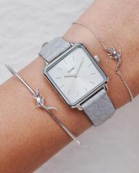 Zegarek La Tetragone Silver Grey